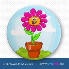 Szekrényjel, Cserepes virág ovisjellel
