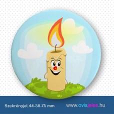 Szekrényjel, Gyertya ovisjellel