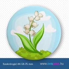 Szekrényjel, Gyöngyvirág ovisjellel