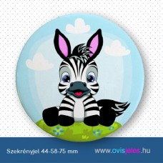 Szekrényjel, Zebra ovisjellel