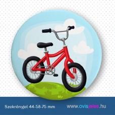 Szekrényjel, Bicikli ovisjellel