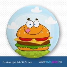 Szekrényjel, Hamburger ovisjellel